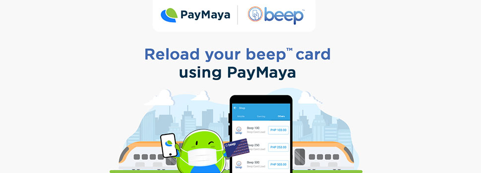 How to load your beep card via PayMaya