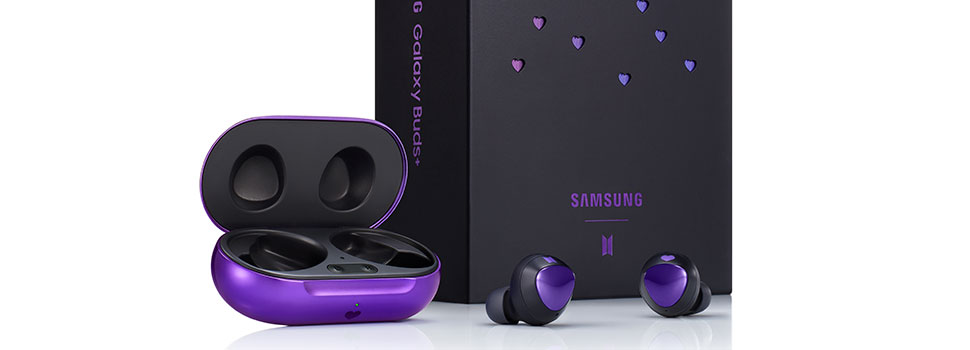The Samsung Galaxy Buds+ BTS Edition will be available starting July 9