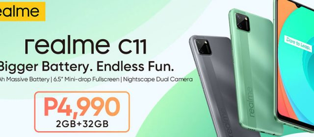 The realme C11 is out, here are the specs and price