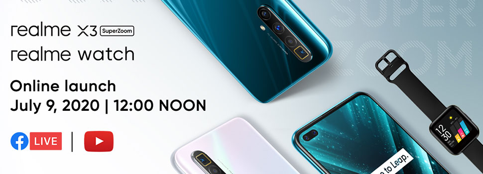 realme X3 SuperZoom To Launch Tomorrow July 9