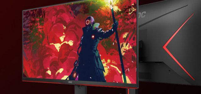 AOC Gaming G2 Monitors now restocked