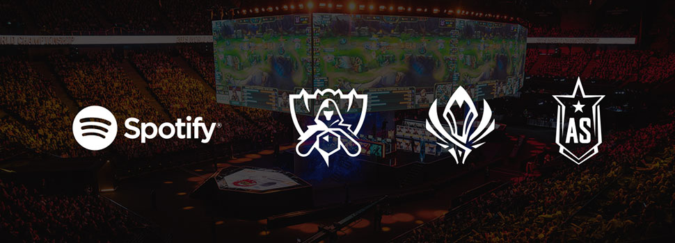 Spotify Launches League of Legends Esports Music Hub