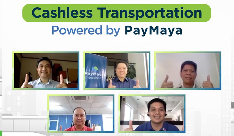 paymaya powers transport sector