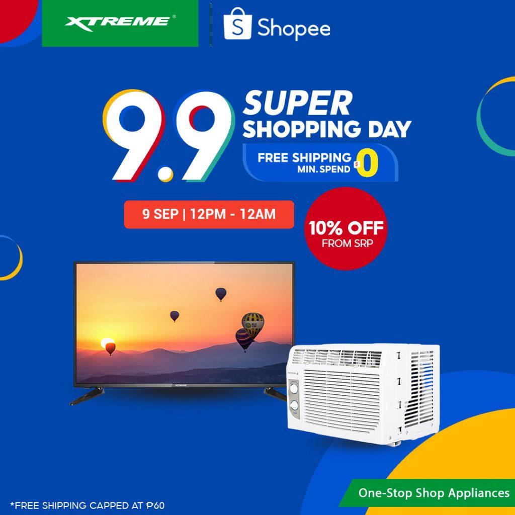 Xtreme Appliances 9.9 Shopee Sale