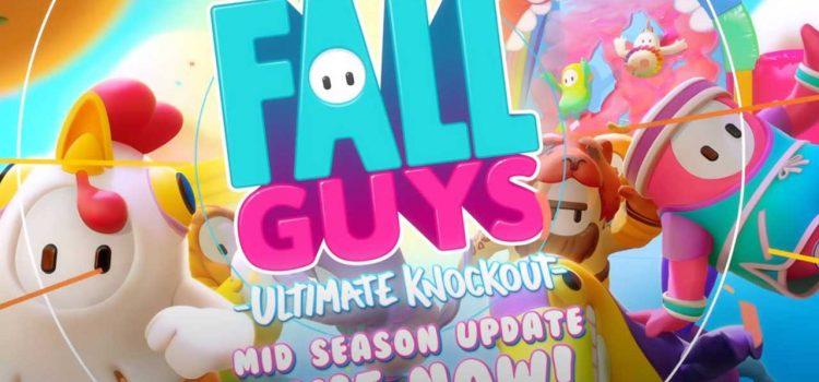Fall Guys Mid Season Update: It's Hammer Time