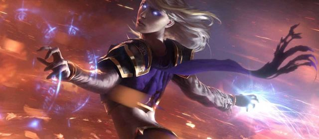 Hearthstone's Book of Heroes features Jaina Proudmoore