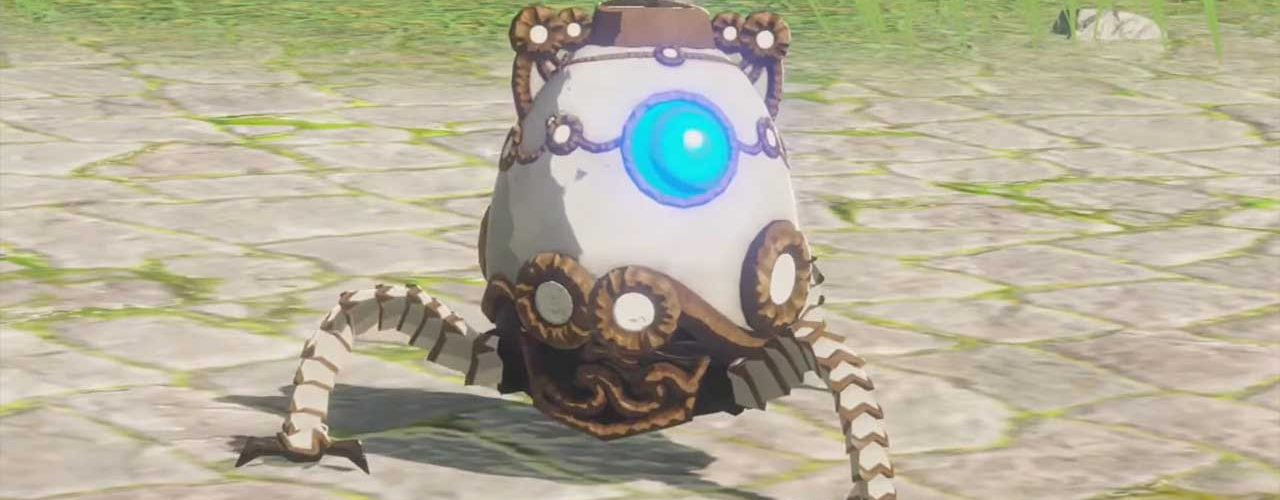 This Baby Guardian Stole the Show During the Hyrule Warriors: Age of Calamity  TGS Gameplay