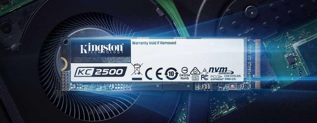 Kingston Launches New Next-Gen KC2500 NVMe PCIe SSDs