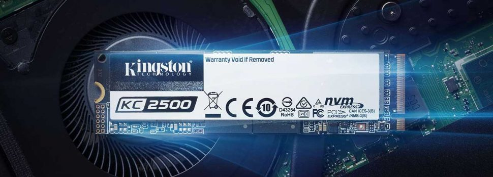 Kingston Launches New Next-Gen KC2500 NVMe PCIe SSDs