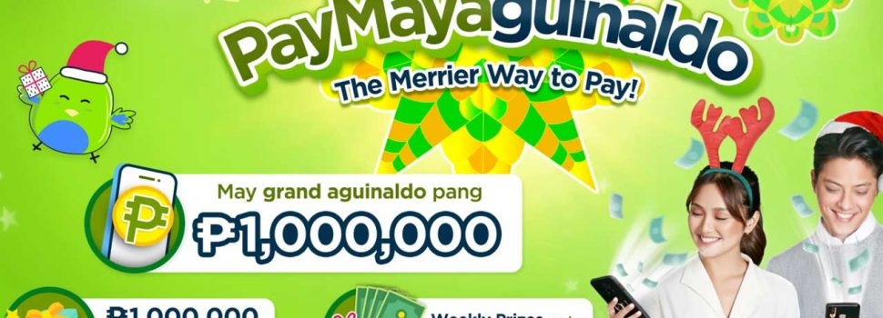 Want to win P1,000,000 from PayMaya? Here's how!