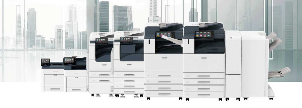 Fuji Xerox Launches 2021 New Devices Lineup