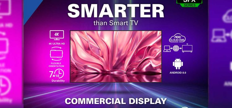 AOC Announces New Commercial Displays