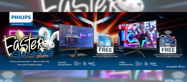 PROMO ALERT | Philips Gaming Monitors partners up with Globe, Launches Easter Gaming Promo