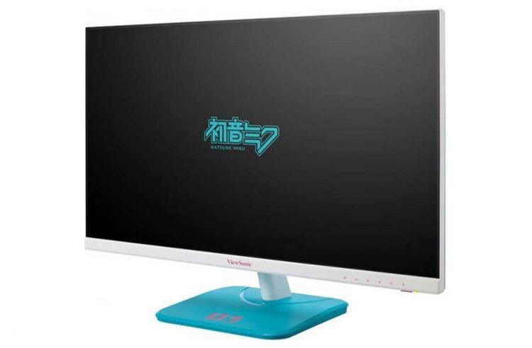 ViewSonic To Release Hatsune Miku Collab Monitor