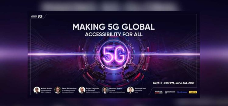 realme commits 5G phones to 100 million young consumers by 2024